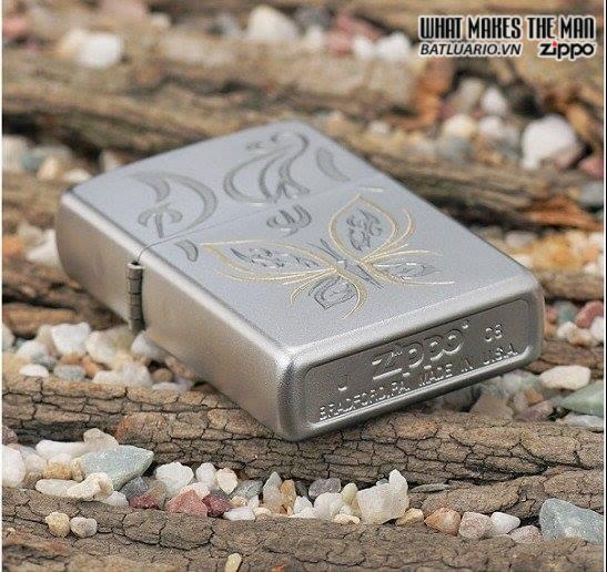 Zippo 24339 – Zippo Lighter Golden Butterfly 1