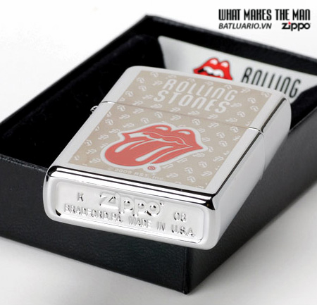 Zippo 24543 – Zippo Rolling Stones High Polish Chrome 2