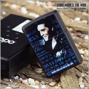 Zippo 24546 – Zippo Elvis Black Matte 2