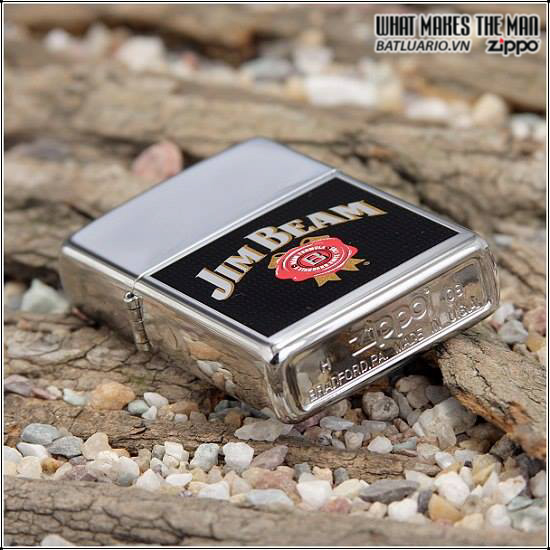 Zippo 24552 – Zippo Jim Beam High Polish Chrome