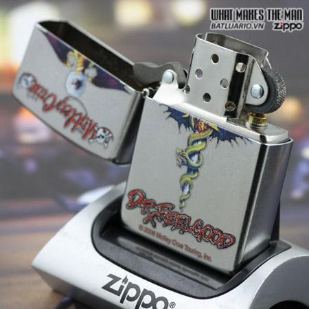 Zippo 24562 – Zippo Motley Crue Street Chrome 2