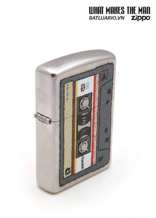 Zippo 24715 – Zippo Cassette Street Chrome