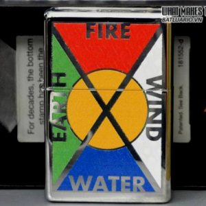 Zippo 24812 – Zippo Bottomz Up Fire Wind Earth Water