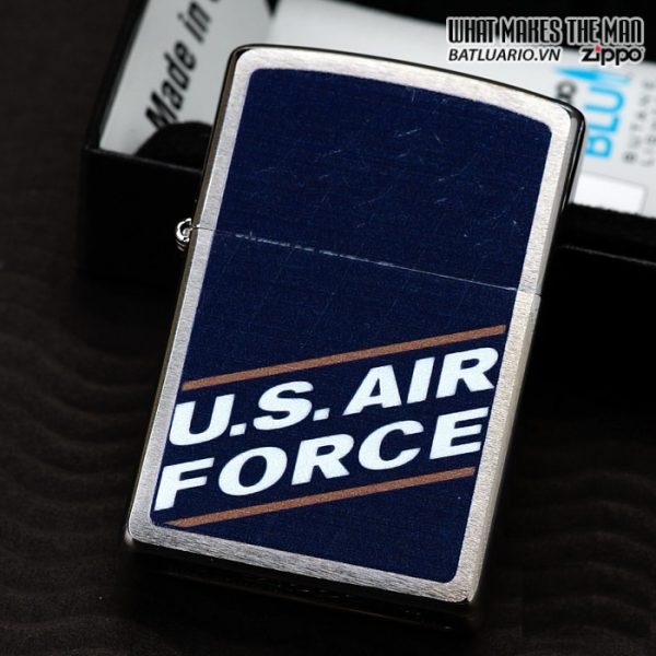 Zippo 24827 – Zippo US Air Force Brushed Chrome 1