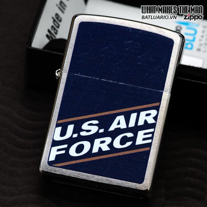 Zippo 24827 – Zippo US Air Force Brushed Chrome 1