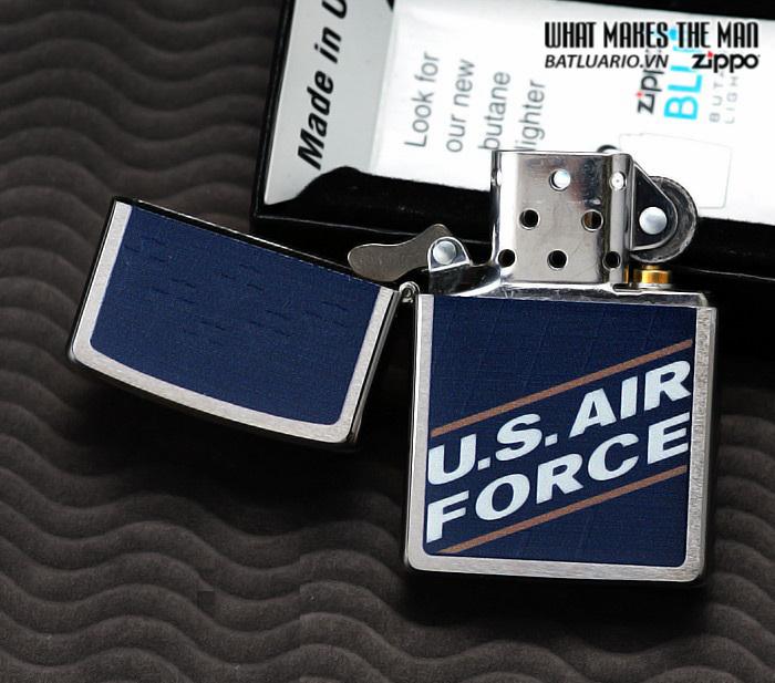 Zippo 24827 – Zippo US Air Force Brushed Chrome