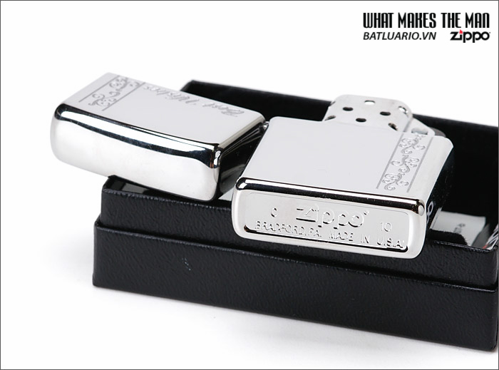 Zippo 24877 – Zippo Best Wishes Polished Chrome