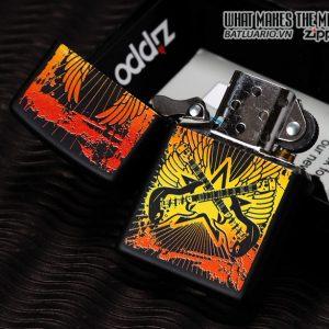 Zippo 24891 – Zippo Lighter Guitar Black Matte 2