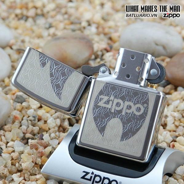 Zippo 24942 – Zippo Hidden Flame in High Polish Chrome