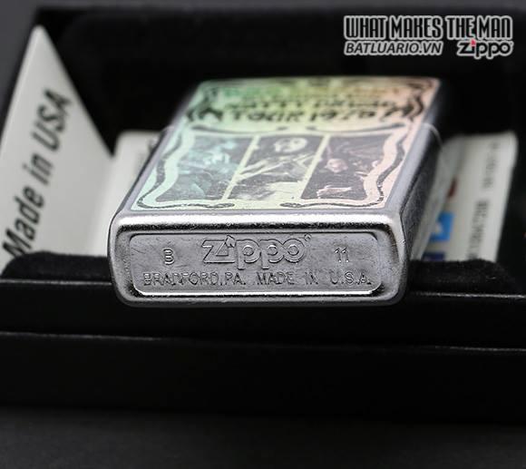 Zippo 24990 – Zippo Street Chrome Bob Marley Distress 2