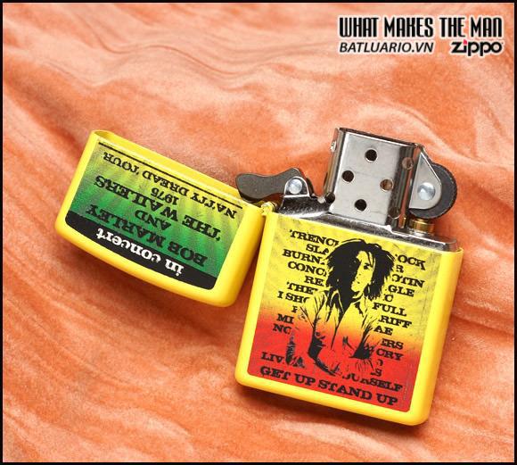 Zippo 24993 – Zippo Bob Marley Yellow Matte 2