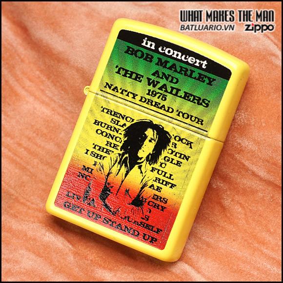 Zippo 24993 – Zippo Bob Marley Yellow Matte