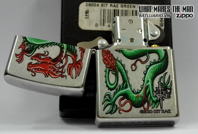 Zippo 28004 – Zippo Kit Rae Green Dragon