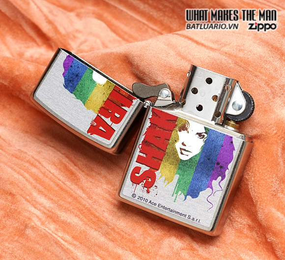 Zippo 28028 – Zippo Shakira Pop Art Street Chrome