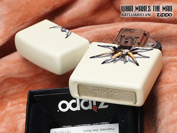 Zippo 28032 – Zippo Lighter Tarantula Cream Matte 1