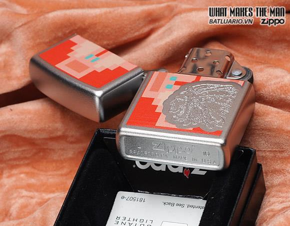 Zippo 28068 – Zippo Indian Chief Satin Chrome