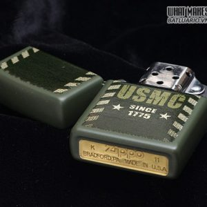 Zippo 28337 – Zippo Lighter Marines Green Matte