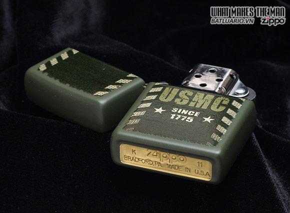 Zippo 28337 – Zippo Lighter Marines Green Matte