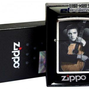 Zippo 28431 – Zippo Elvis Guitar Street Chrome 1