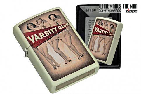 Zippo 28441 – Zippo Varsity Club Cream Matte