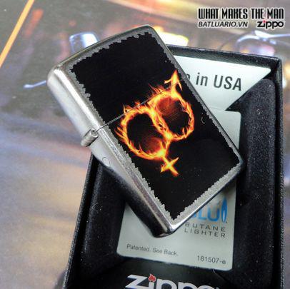 Zippo 28446 – Zippo Men Women Fire Street Chrome