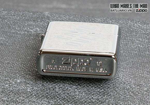 Zippo 28447 – Zippo Game Over Polished Chrome