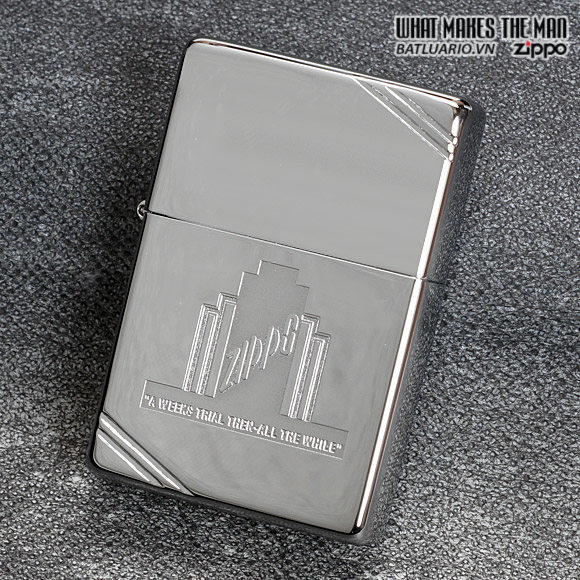 Zippo 28451 – Zippo A Weeks Trial Polished Chrome 2
