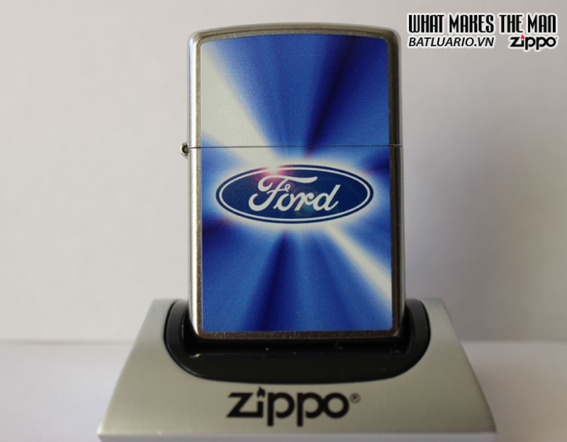Zippo 28455 – Zippo Ford Blue Street Chrome 1