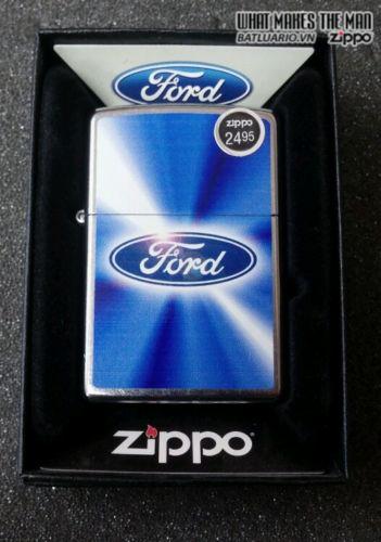 Zippo 28455 – Zippo Ford Blue Street Chrome