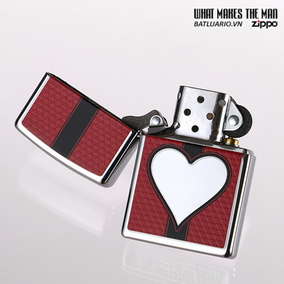 Zippo 28466 – Zippo Chrome Heart Polished Chrome 2