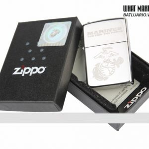 Zippo 28478 – Zippo US Marines Polished Chrome