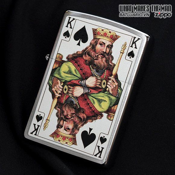 Zippo 28489 – Zippo King Brushed Chrome 2
