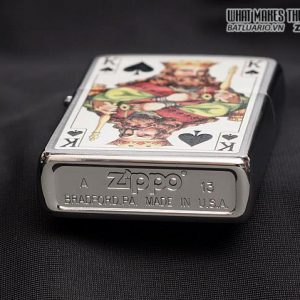 Zippo 28489 – Zippo King Brushed Chrome