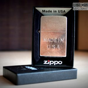 Zippo 28491 – Zippo Made in USA Stamp Street Chrome