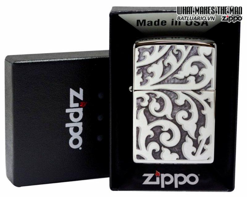 Zippo 28530 – Zippo Filigree High Polish Chrome 2