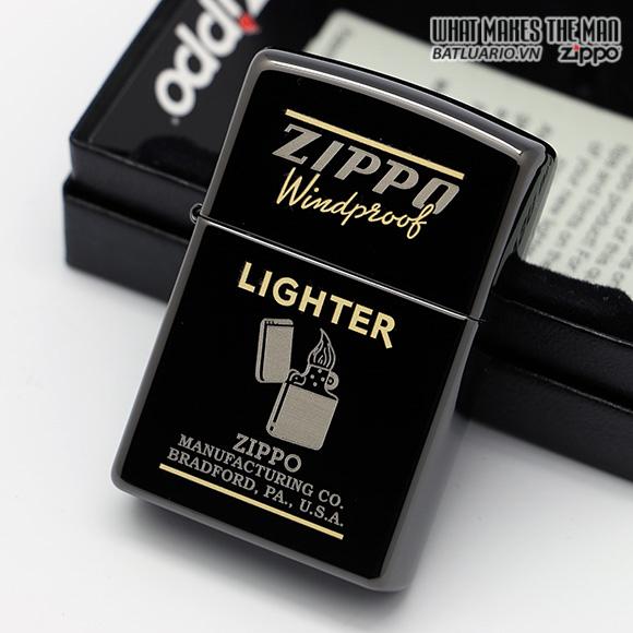 Zippo 28535 – Zippo Windproof Black Ebony