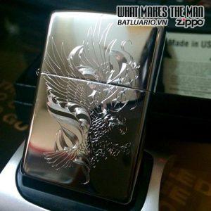 Zippo khắc Đại Bàng 01 - Zippo 250.DB01