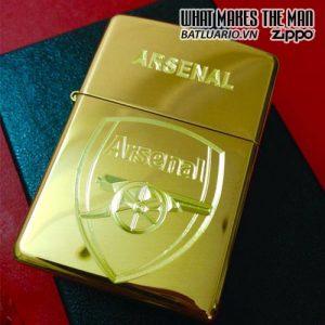 Zippo Khắc Logo Arsenal 01 - 254B.ARS01