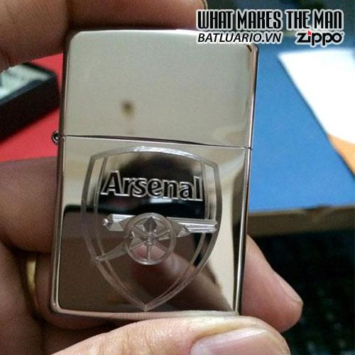 Zippo Khắc Logo Arsenal 02 - 250.ARS02