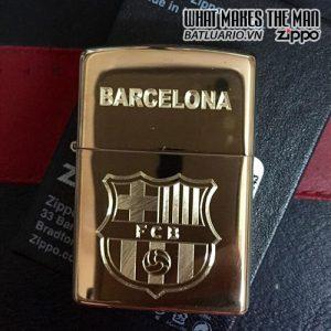 Zippo Khắc Logo FC Barcelona 01 - Zippo 254B.BAR01