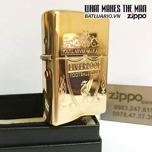 Zippo 169 Khắc Logo Liverpool - 169.LIV