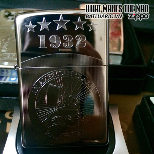 Zippo khắc Made USA - Zippo 250.USA