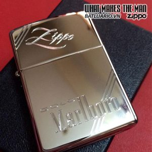 Zippo khắc Marlboro 02 – Zippo 250.MARL02