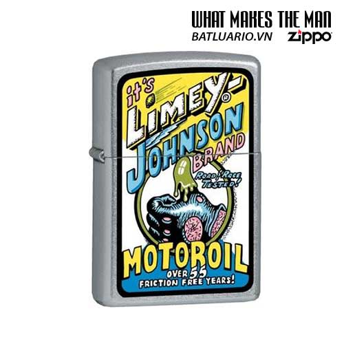 Zippo 21011 - Zippo Limey Johnson Motor Oil