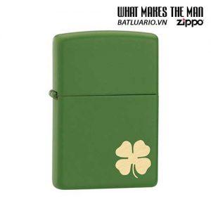 Zippo 21032 - Zippo Lucky Clover - Shamrock Green Matte