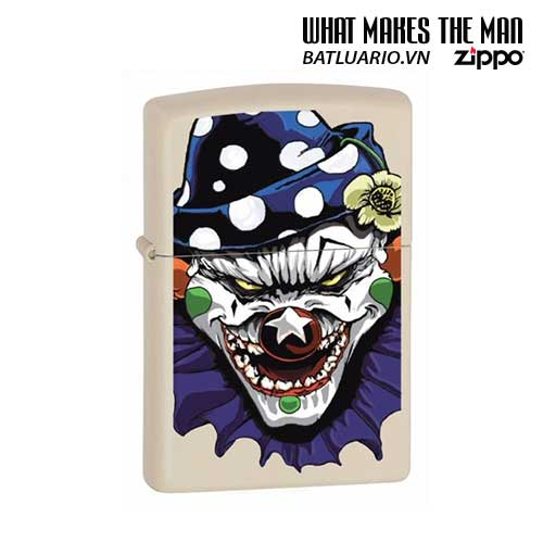 Zippo 24468 - Zippo Evil Clown Cream Matte