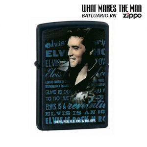 Zippo 24546 - Zippo Elvis Black Matte