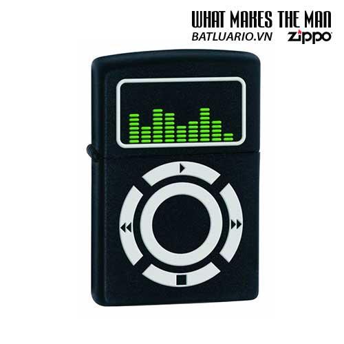 Zippo 24712 - Zippo Lighter MSC Music Black Matte