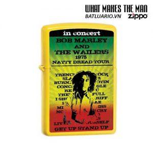 Zippo 24993 - Zippo Bob Marley Yellow Matte