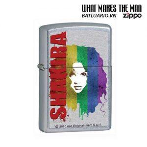 Zippo 28028 - Zippo Shakira Pop Art Street Chrome